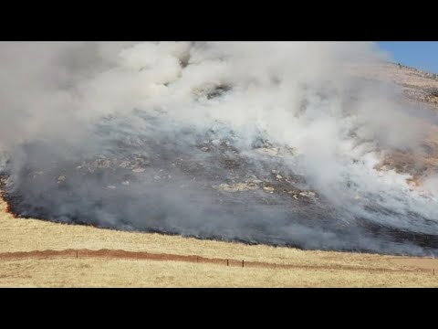 Wildfire season: Flames get within yards of Fresno County home