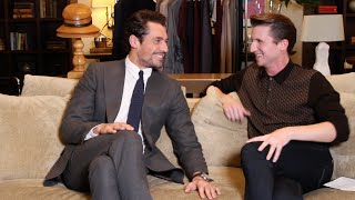 David Gandy On His Favourite Pants And His Guide To Being A Gent| Grazia UK