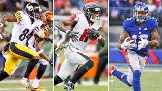 Fantasy Football 2016 Draft Rankings: Wide Receivers