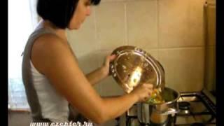 Овощное рагу с мясом - видео рецепт