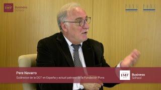Jornada sobre el Permiso por Puntos – Entrevista a Pere Navarro