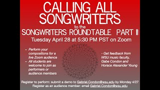 Songwriters Roundtable Video