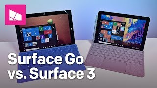 Surface Go vs. Surface 3: Should you upgrade?
