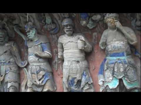 Dazu Rock Carvings China.