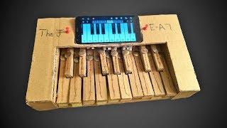 How To Make Electric Keyboard - CardBoard SmartPhone Piano