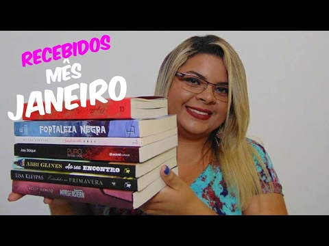 BOOK HAUL + UNBOXING ? Janeiro de 2017 | Estante da Suh