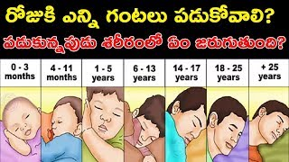 SLEEP DEPRIVATION EFFECTS ? HOW MUCH SLEEP WE NEED IN TELUGU? HOW TO FALL A SLEEP FAST |FACTS 4U