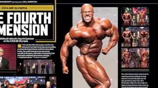 FLEX magazine February 2015 with Phil Heath