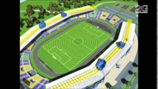 preview picture of video 'Cabinet 2G: Stade de Franceville'