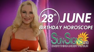 Birthday June 28th Horoscope Personality Zodiac Sign Cancer Astrology