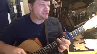 You and I Will Meet Again (Tom Petty) Guitar Chord Chart - Capo 4th
