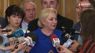 Dăncilă: Am certitudinea că vom ajunge în turul doi şi o să câştigăm alegerile prezidenţiale