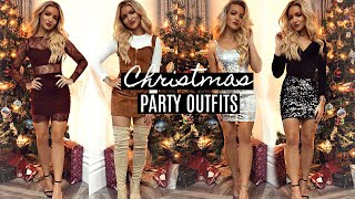 CHRISTMAS PARTY OUTFIT IDEAS 2018 / 2019!
