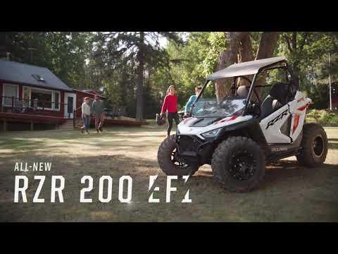2022 Polaris RZR 200 EFI in Jamestown, New York - Video 1