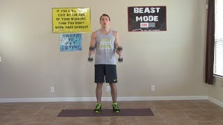 7 Min Home Bicep Workouts - HASfit Home Biceps Workout - Bicep Exercises - Biceps Workouts by HASfit