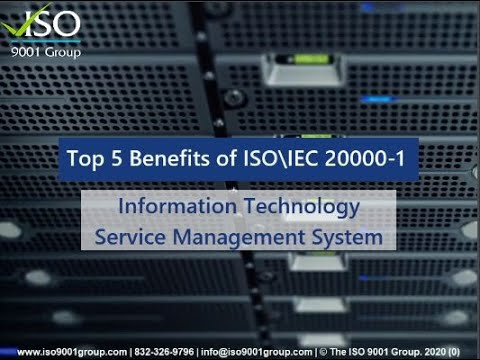 Top 5 Benefits of ISO\IEC 20000-1 - Information Technology Service ...
