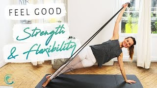 THERABAND WORKOUT: TOTAL BODY strength & flexibility PILATES