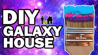 We Painted Our House Galaxy!!! Man Vs House Ep.#6 - Video Youtube