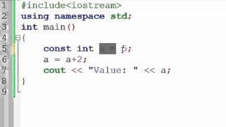 83. Constant Variable in C++ (Hindi)