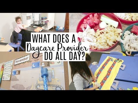 Day in the Life of a Daycare Provider | 8 KIDS UNDER 5