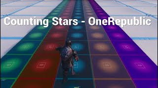 Counting Stars By OneRepublic - Fortnite Music Blocks (SHORT SONG)