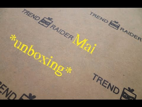 Trend Raider Box Mai [unboxing]