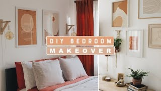 Boho Chic DIY Room Makeover 2019   Making Over My Brother + His Girlfriends Bedroom!