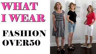 FASHION OVER 50 EVERYDAY CASUAL STYLE SUMMER LOOKBOOK