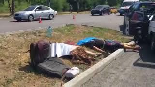 В Запорожье на Набережной произошло еще одно смертельное ДТП: двое людей погибло
