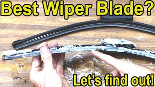 Which Windshield Wiper Blade is Best? Let's find out!  Michelin, PIAA, Bosch, AC Delco, & Aero