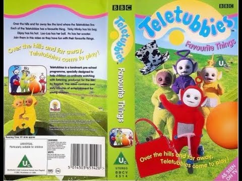 Teletubbies, Favourite Things (UK VHS 1998)