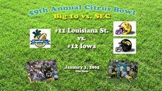 2005 Citrus Bowl (LSU v Iowa) One Hour