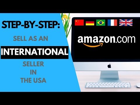 How to set up an Amazon Seller Account as international seller (with a PRO merchant account)