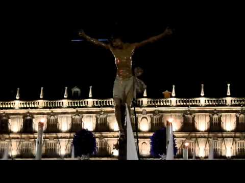 Real Cofradia Cristo Yacente por Plaza Mayor,S.S Salamanca 2014