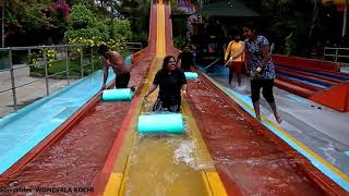 Fun Glide Wavy Fall || Wonderla Kochi