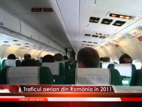 Traficul aerian din Romania in 2011