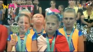 World Champion Majorettes Sport 2016 Pom-Pom Cadets mini