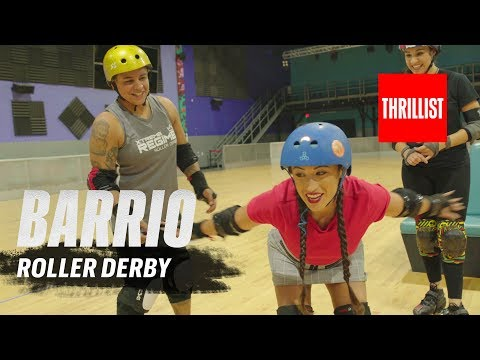 Roller Derby Battle in Miami || Barrio