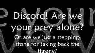 Discord- Eurobeat Brony-The Living Tombstone- (Remix) Lyrics
