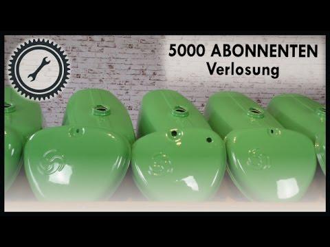 Verlosung: 10x Tank/Seitendeckel Sets - 5000 Abonnenten