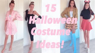 15 HALLOWEEN COSTUME IDEAS!! ~ Cute & Affordable! ♡