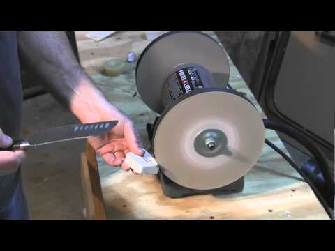 Download Do you want Razor Sharp knives. I'll show you how using a new product and a bench grinder HD Mp4 3GP Video and MP3