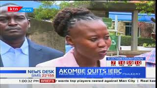 Commissioner Roselyne Akombe resigns seven days to elections