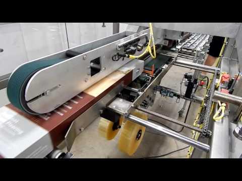 Selladora TBS para sellar los bordes de la caja