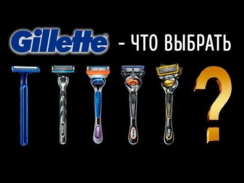 Gillette - Что выбрать? Мужские станки для бритья. Эволюция Джиллетт.