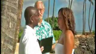 preview picture of video 'Waialae Beach Wedding'