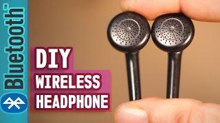 How to make Wireless earphone?