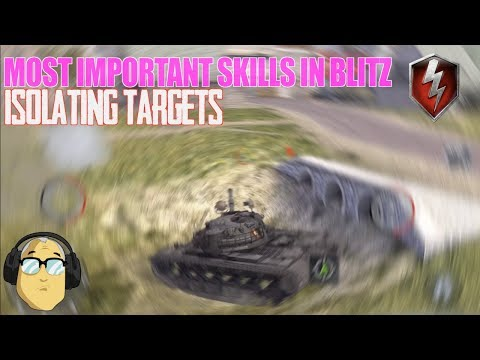 ISOLATING Targets | Most Important Skills in Blitz | World of Tanks Blitz