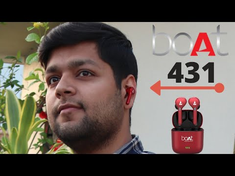 boAt Airdopes 431 review – Best true wireless earbuds With HD Sound, Water and Sweat Resistance