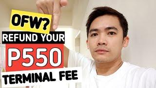OFW TERMINAL FEE REFUND 2019 | How to claim | balik manggagawa 2019